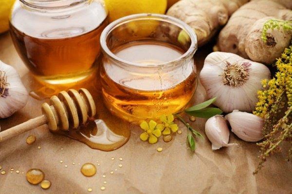 рецепты с чесноком и медом