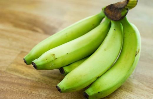 Недоспевшие бананы могут навредить после поноса