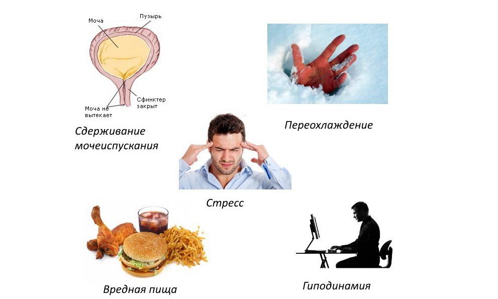 Цистит и хронический простатит у мужчин простатит симптомы фото лечение
