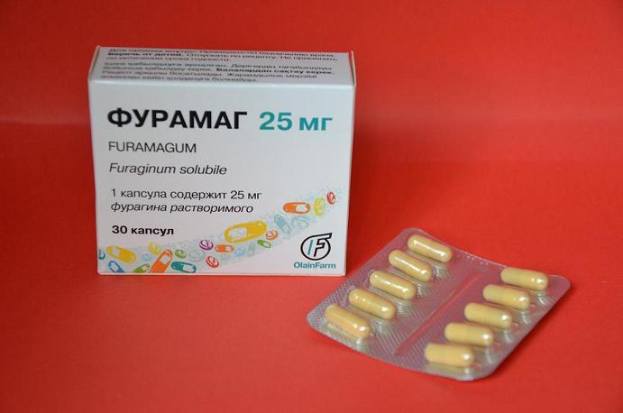 фурамаг антибиотик или нет (главный ключ)
