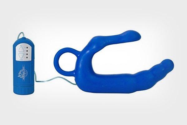 массажер синий для простаты