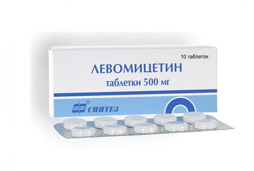 Левомицетин при поносе