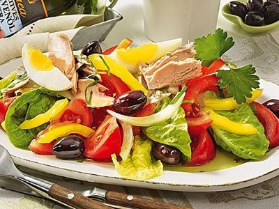 сбалансированный салат