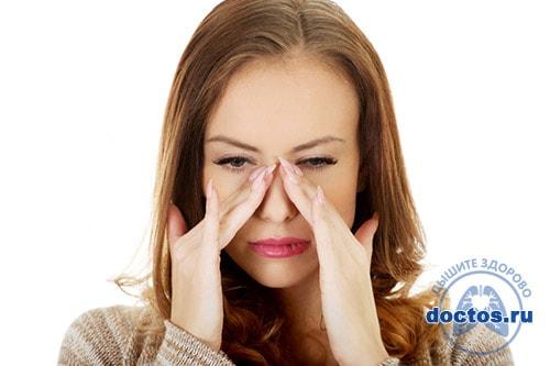 Симптомы катарального гайморита