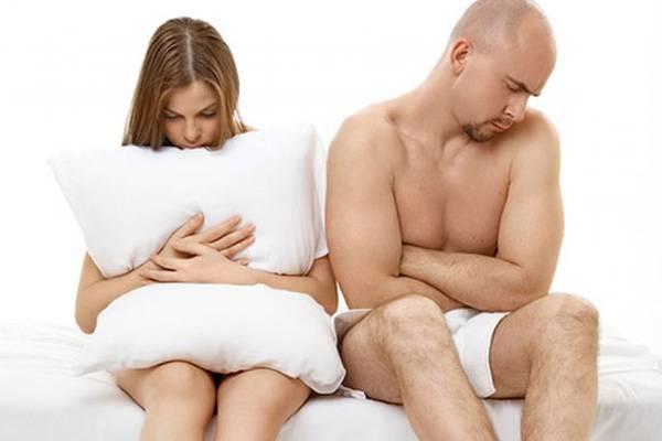 проявление половой дисфункции