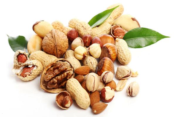 орехи и различные семена также содержат омега3
