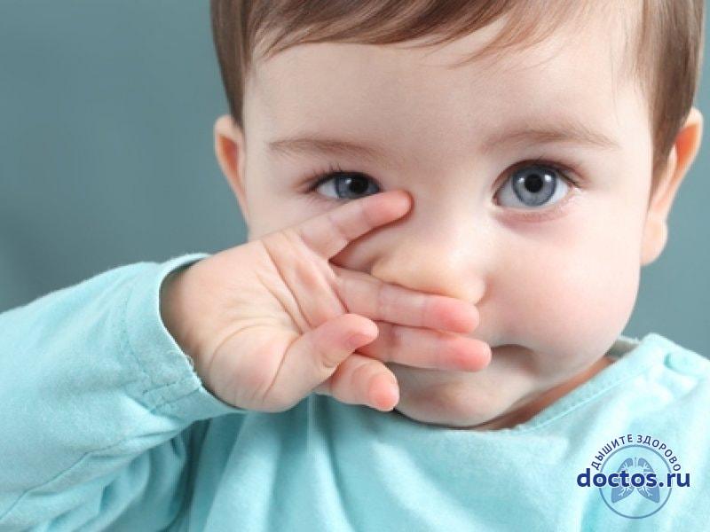 Кровь из носа у малышей