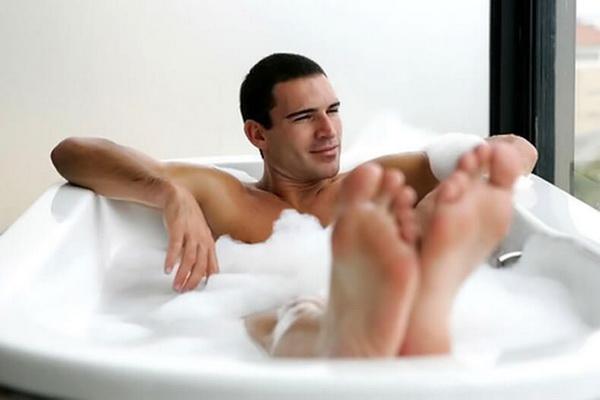 самомассаж в ванной