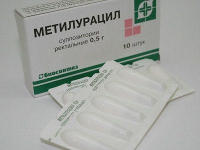 метилурациловые свечи при простатите