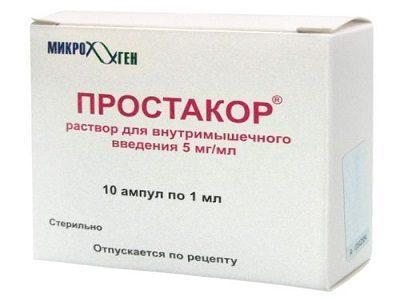 препарат Простакор