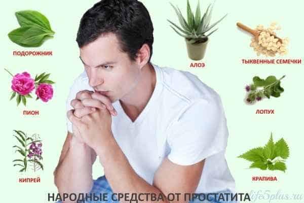 Лечение простатита народными средствами