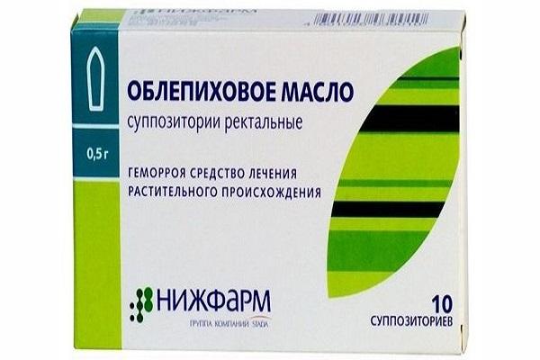 облепиховое масло для лечения простатита