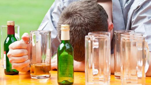 После большой пьянки