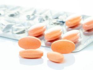 оранжевые таблетки