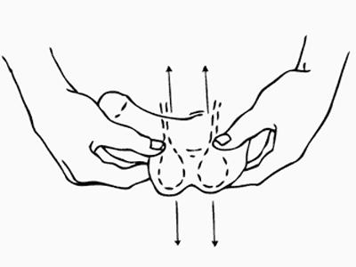 массаж мошонки для повышения потенции при простатите