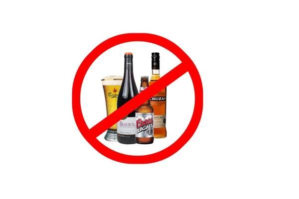 отказ от спиртного для профилактики импотенции