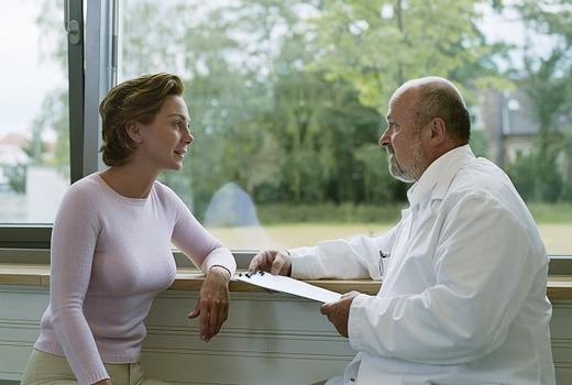 Диагностирование проблемы у врача