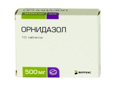 орнидазол лекарство от простатита