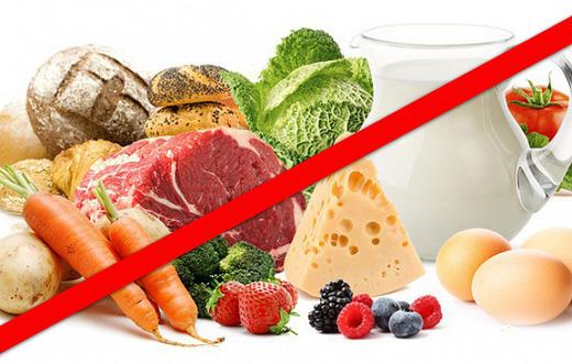 Ради лечения запрет на определенную пищу