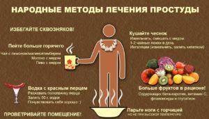 Эффективные народные средства от кашля и от насморка