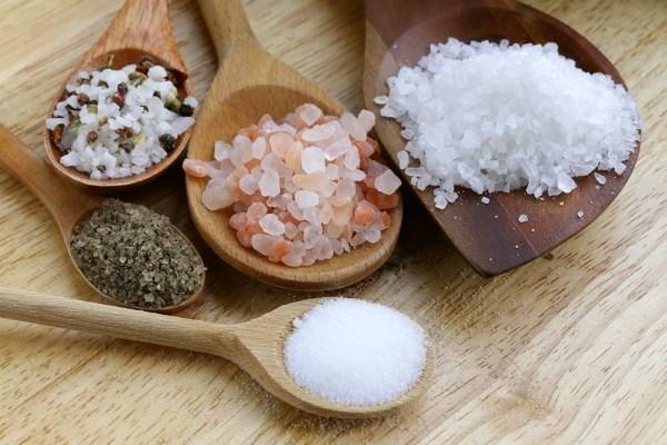виды соли для лечения