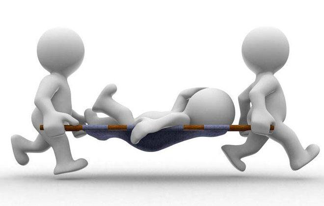 Первая помощь больному