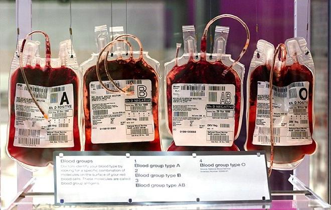 Пакеты с красной жидкостью