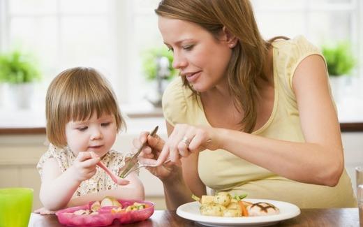 Введение новых продуктов в рацион ребенка