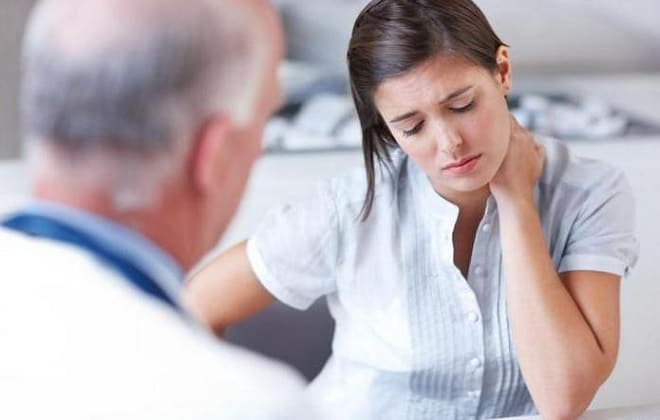 Посещение врача при лимфогранулематозе