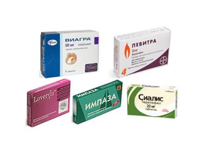 разные таблетки для потенции