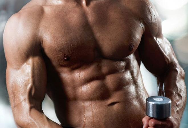 Красивое мужское тело с помощью тестостерона