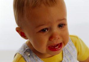 плач и сопли у ребенка