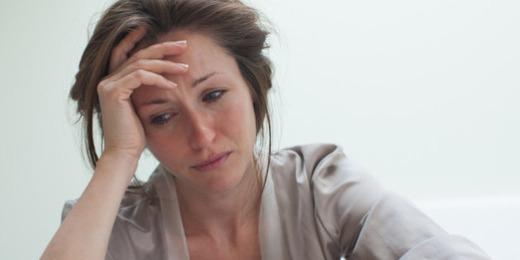 Стрессовая ситуация у девушки