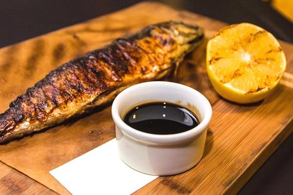 Рыба под имбирным соусом