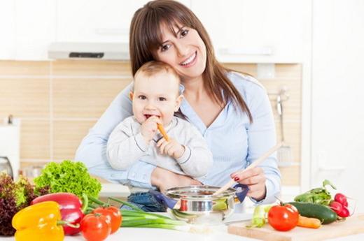 Рацион матери и ребенка