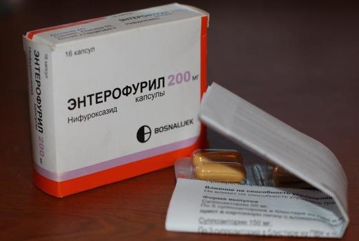 Энтерофурил как противомикробное средство