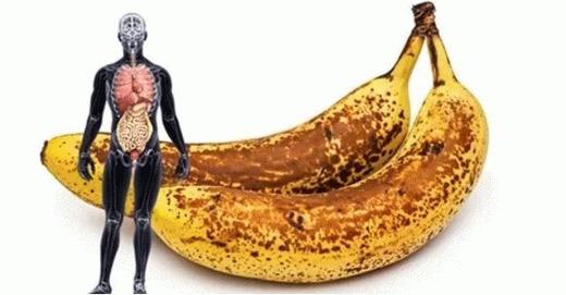 Влияние банана на организм
