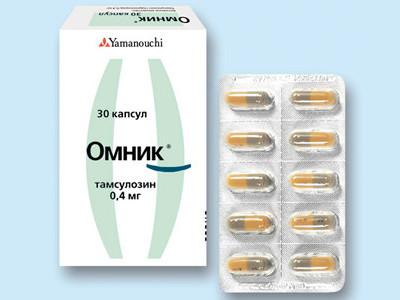 препарат омник таблетки от простатита