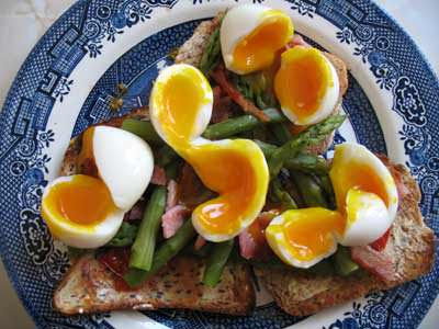 завтрак для мужчины