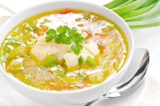 Легкий суп при расстройствах желудка