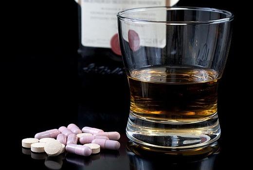 Употребление с алкоголем запрещено