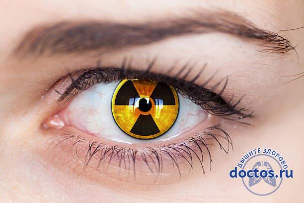 Инфицирование глазницы