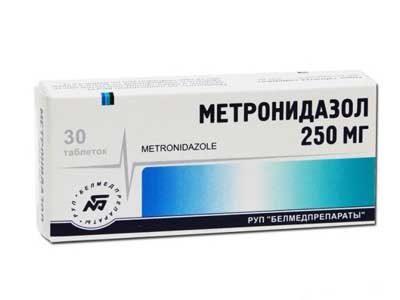 метронидазол от простатита