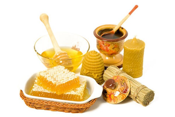 мед и пчелиный воск