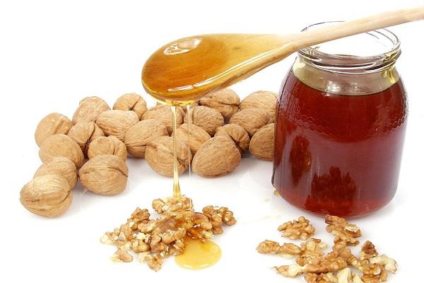 рецепт орехи с медом