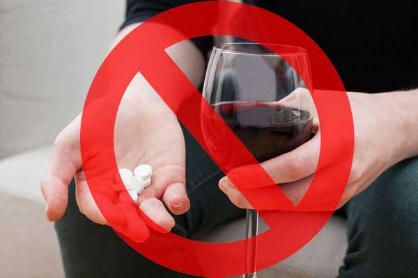 отказ от алкоголя при приеме простамол уно