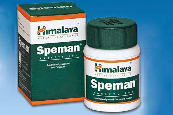 Всё о мужском здоровье и образе жизни Спеман (Speman) от простатита