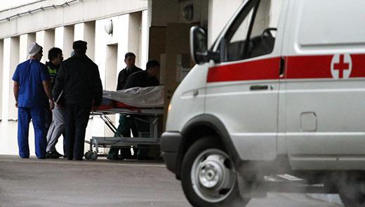 Доставка больного в больницу на карете скорой помощи