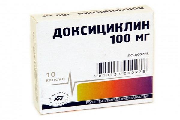 Доксициклин для лечения простатита