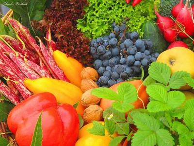 Фрукты, овощи и зелень